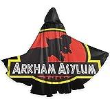 Photo de Amanda Walter Arkham Asylum Hallowmas for Women Wizard Cape Make Trouble, Trick Or Treat, Party, Carnival, Dress Up Taille Unique Noir