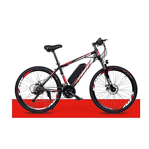 Greenhouses Bicicletas eléctricas para Adultos, Bicicletas eléctricas para Todo Terreno, batería de Iones de Litio extraíble de 26'36 V 250 W 8 Ah, Bicicleta eléctrica de montaña para Hombres