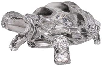 finaldeals Feng Shui Tortoise Crystal Turtle for Good Luck - 4.8 inches