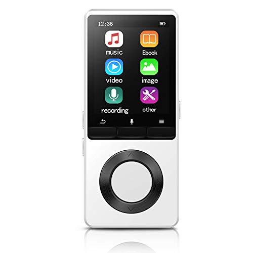 MP3-speler, met luidspreker Metalen draagbare HIFI-muziekspeler, met FM-radio E-Book Sport, voor Walkman-ondersteuning TF, kaart tot 128 GB