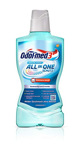 Odol-med3 All in One Schutz Mundspülung, 500 ml