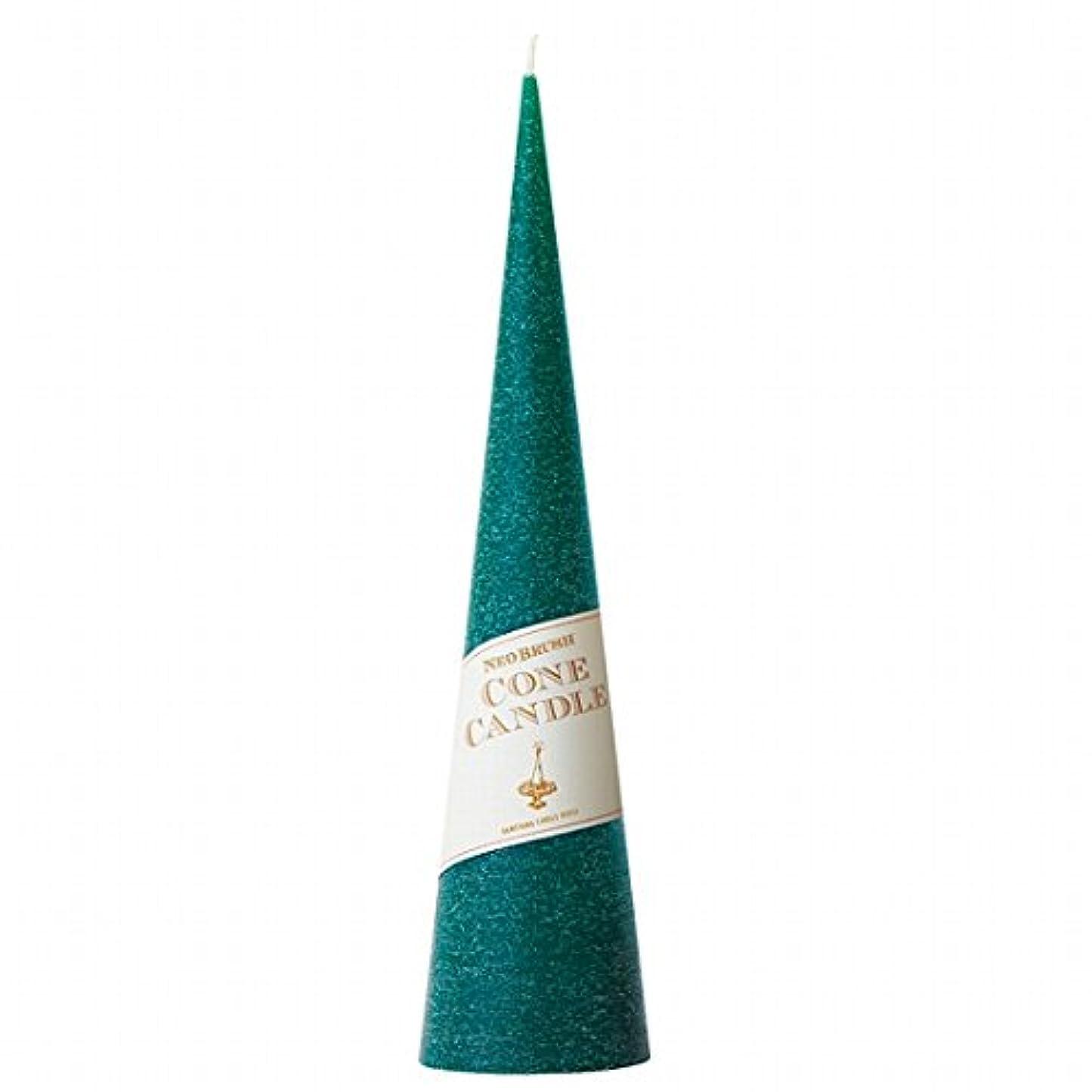 大いにデッドワインカメヤマキャンドル(kameyama candle) ネオブラッシュコーン 295 キャンドル 「 グリーン 」