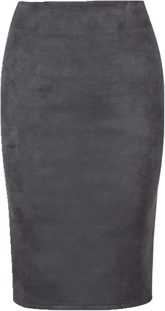 NP Multi Color Pencil Skirt Women Waist Office Lady