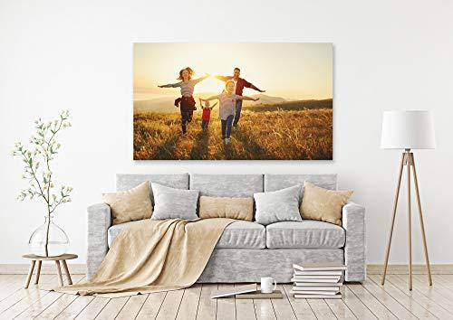 Ihr eigenes Foto als XXL Poster drucken lassen | 80cm x 55cm | erstellen Sie eigene Urlaubs, Familien oder Hochzeits-Bilder, direkt auf Amazon konfigurieren | Premium Druck-Qualität 200g Fotopapier