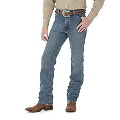 Wrangler Men's Cowboy Cut Slim Fit Jean, Rough Stone, 30W x 32L