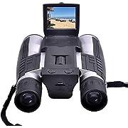 "Binoculars Camera,CamKing FS608 720P Digital Camera Binoculars Camera with 2"" LCD Display 12x32 Folding Prism Digital Binoculars with Camera Video Great for Bird Watching Concerts and Sports Games"