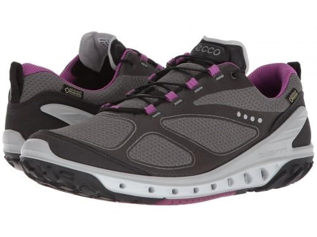 近々夢ジーンズECCO Sport(エコー スポーツ) レディース 女性用 シューズ 靴 スニーカー 運動靴 Biom Venture GTX - Black/Titanium/Orchid [並行輸入品]