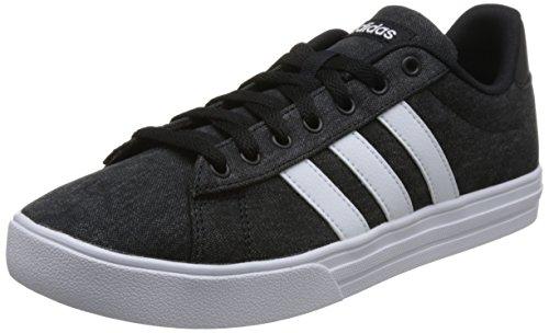 adidas Herren Daily 2.0 Fitnessschuhe, Schwarz (Negbás/Ftwbla/Negbás 000), 45 1/3 EU