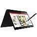 Lenovo Flex 14 2-in-1 Convertible Laptop, 14 Inch FHD Touchscreen Display, AMD Ryzen 5 3500U Processor, 12GB DDR4 RAM, 256GB NVMe SSD, Windows 10, 81SS000DUS, Black, Pen Included (Renewed)