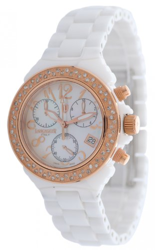 Lancaster Damen OLA0326BN/BN New Ceramic Diamond Bezel Uhr