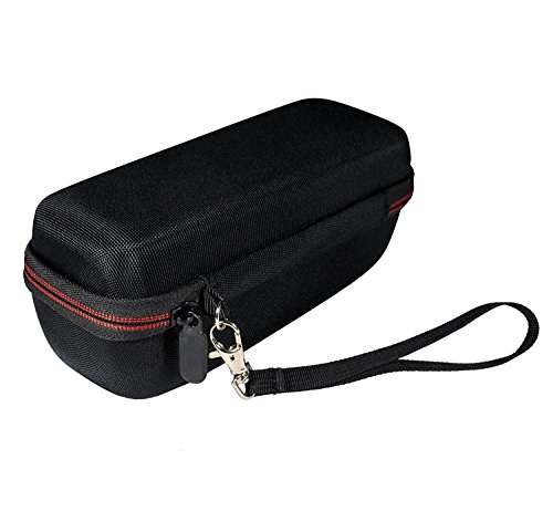 JBL Flip 4 Portable Bluetooth Wireless Speaker Bundle with Protective Travel Case - Black