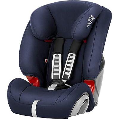 BRITAX RÖMER Silla de coche EVOLVA 1-2-3, niño de 9 a 36 kg (Grupo 1/2/3) de 9 meses a 12 años, Moonlight Blue