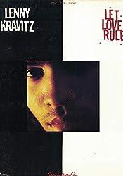 Lenny Kravitz - Let Love Rule - Partitions piano voix guitare
