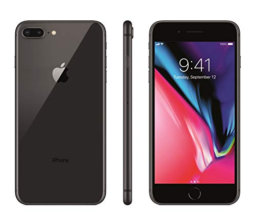 Apple iPhone 8 Plus, 64GB, Space Gray - For T-Mobile (Renewed)