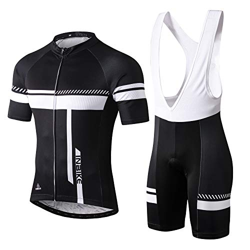 INBIKE Maillot + Cuissard Cycliste Homme pour Cyclisme...