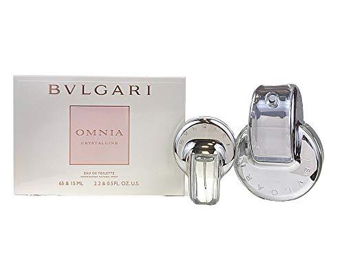Bvlgari Omnia Crystalline Set - Eau De Toilette 65 ml + Edt 15 ml