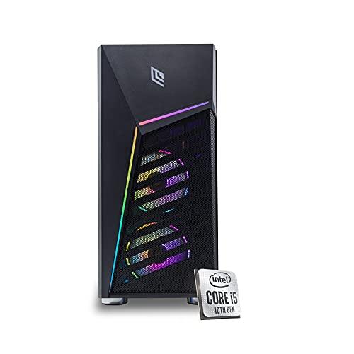 Ordenador de sobremesa gaming completo Intel i5 10400 4.3 GHz / Asus Tuf Gaming Gtx 1650 4 GB / Disipador de líquido 120 RGB/RAM Ddr4 16 GB/SSD M.2 500 GB / Windows 10 Pro/Ordenador de Gaming montado