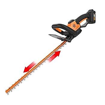WORX WG261 20V Power Share 22  Cordless Hedge Trimmer