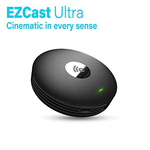 EZCast Ultra   4K HDR Universal HDMI Wireless Display Receiver, 2.4G/5G Dual Band, iOS/Android/macOS/Windows Support, Miracast/DLNA/Airplay Support, Bluetooth 4.2 Support