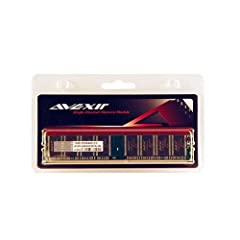 AVEXIR AVD1U04000301G-1B Budget 1GB 1024MB 184-pin pc3200 DDR 400mhz DIMM 3-3-3-8 desktop memory module