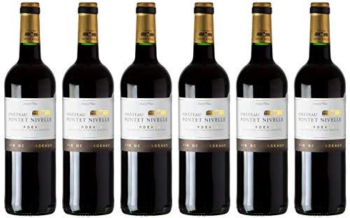 2019 Château Pontet Nivelle Rouge trocken AOP Bordeaux Frankreich (6x 0,75l)