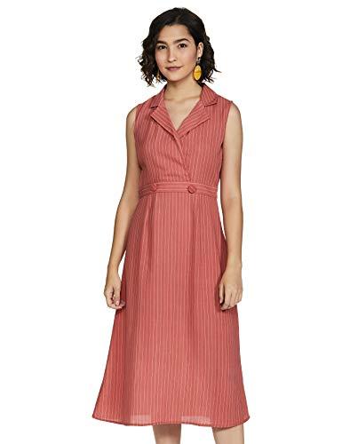 Amazon Brand – Symbol Women's Wrap Midi Dress