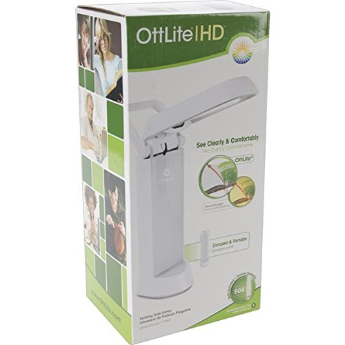 OttLite 717WG3 13-watt Refresh Task Lamp, 4.56