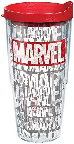 Tervis Marvel Insulated Tumbler 24oz Tritan Logo product image