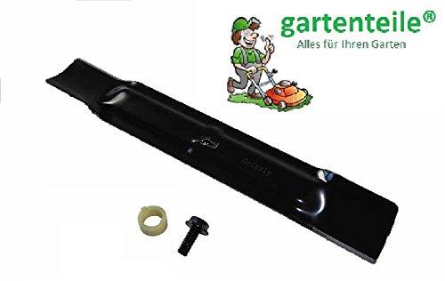 gartenteile Ersatzmesser inkl. Messerschraube passend für Elektro Rasenmäher EINHELL GE-EM 1233 / Ersatz Messer für Rasen MÄHER/Spare Blade Lawn Mower