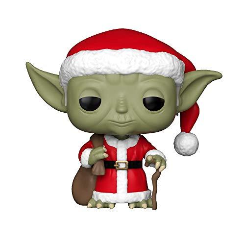Funko 33885 POP Bobble: Star Wars: Holiday Santa Yoda