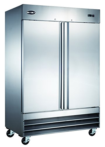 Heavy Duty Commercial Stainless Steel Reach-In Freezer