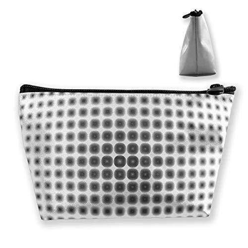 Bolsas de Almacenamiento de cosméticos prácticos de ilusión óptica, Bolsas de Almacenamiento de joyería de ilusión óptica de Moda