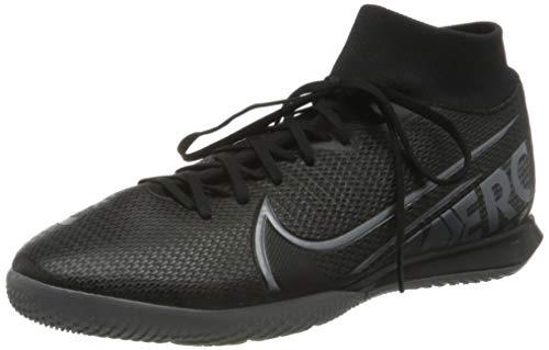 Nike Herren Superfly 7 Academy IC Fußballschuhe, Mehrfarbig (Black/MTLC Cool Grey-Cool Grey 001), 42.5 EU