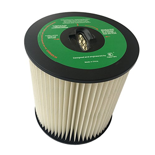 CF Clean Fairy Vacuum Cleaner Filter Replacement for Dirt Devil CV2000 series 7-Inch Central Vac Filter 8106-01 For Vacuflo Tcs-5525 Royal CS400 CS620