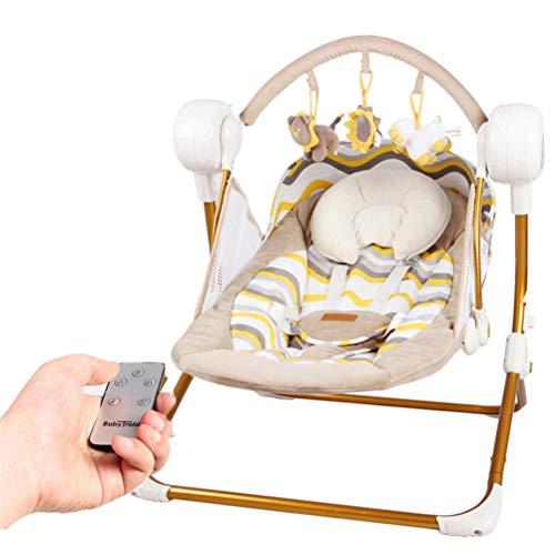 Gong Hamaca para Bebé, Bebé Eléctrica Columpio Infantil Portero De Seguridad, Silla...
