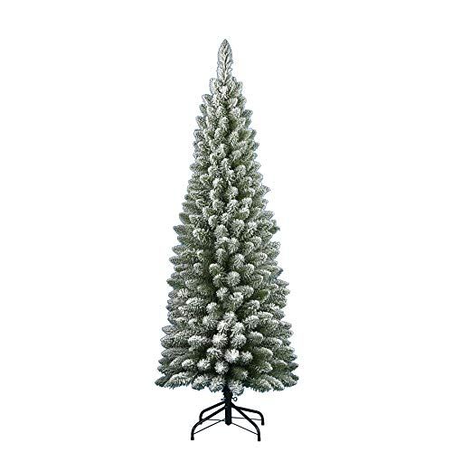 albero di natale slim 180 Flora Silvestre cm.180
