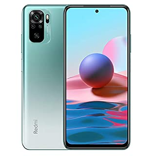 "Xiaomi Redmi Note 10 Smartphone 4GB 128GB Teléfono, 6.43"" AMOLED DotDisplay, Qualcomm® Snapdragon  678 Versión Global(Verde) (B08SQ641LN) 