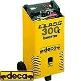 GrecoShop Avviatore/Caricabatterie 250 Amp 12/24 Volt Deca - Class Booster 300E