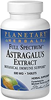 PLANETARY HERBALS Astragalus Extract Full Spectrum 500MG 60 Tablets