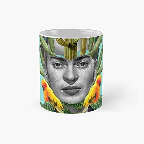Frida Cactus Classic Mug Birth-day Holi-day Gift Drink Home Kitchen