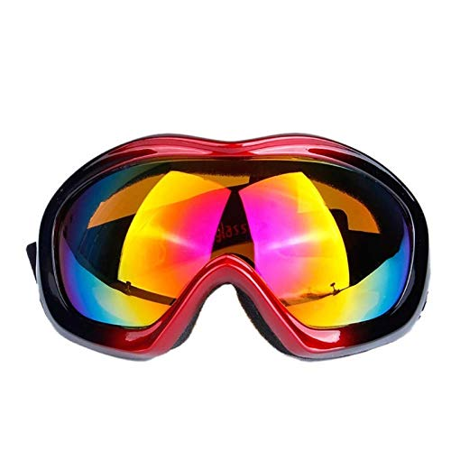 YFCTLM Cycling glasses Cycling Snow Goggles Men Women Sports Glasses Ski Skate Sunglasses Eyewear Bike Motorcycle (Color : RB)