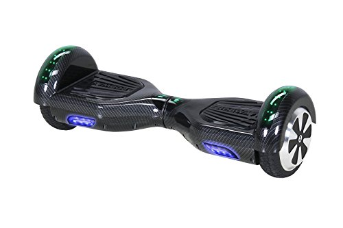 Robway W1 Hoverboard - Das Original - Samsung Marken Akku - Self Balance - 22 Farben - Bluetooth - 2 x 350 Watt Motoren - App - Led (Carbon)