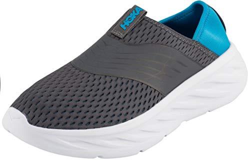 Hoka One One Ora Recovery Shoes Herren Ebony/Dresden Blue Schuhgröße US 12 | EU 46 2/3 2019 Schuhe thumbnail