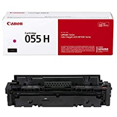 Canon GENUINE Toner 055 Magenta, High Capacity. Single-Cartridge System. For use with the Canon Color image CLASS MF740 Series and LBP664Cdw. Cartridge 055 Standard CMY Yield 2, 100 Pages Each, Black Yields 2, 300 Pages. Cartridge 055 High Capacity C...