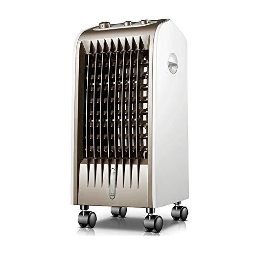 GYF Aire Acondicionado,Aire Acondicionado Portatil,Ventilador De Aire Acondicionado,Aire Acondicionado Bajo Consumo 3 Velocidades,para Hogar Y Oficina 25X28X57CM (Color : Brown, Size : B)