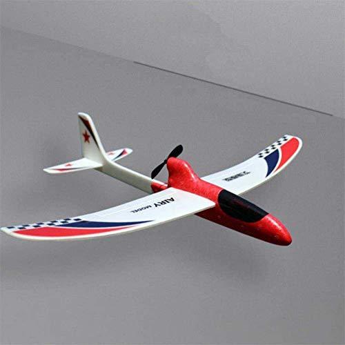 NanXi Mano Eléctrica Motor Throw la Espuma del EPP Aviones niños DIY Poder Educativo Velero Modelo Padres e Hijos avión del Juguete,C