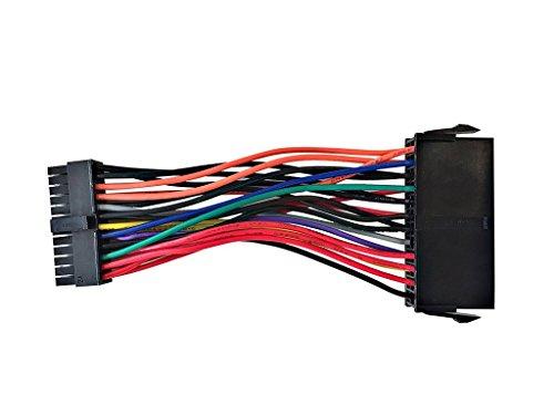 ATX PSU 24Pin Hembra Pequeña 24P Macho Cable de alimentación para DELL 780 760 980 960 PC