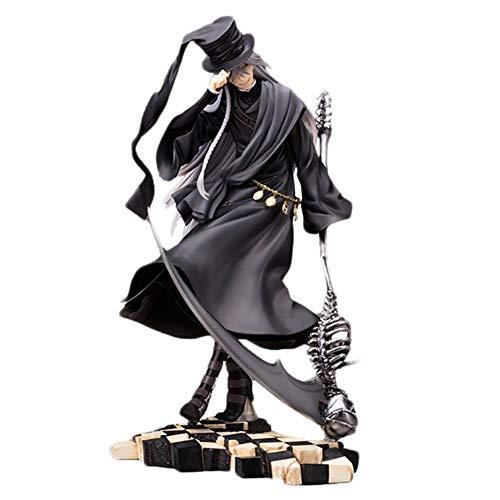 ALTcompluser Anime Figur Black Butler Kuroshitsuji Undertaker PVC Figur Actionfigur Sammelfigur, Ideales Geschenk