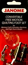 Best janome darning foot for free motion embroidery Reviews