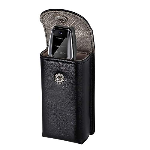MONOJOY Keyless Go Schutz Autoschlüssel, RFID Keyless Go Schutz Autoschlüssel Funkschlüssel Abschirmung Auto Blocker Faraday Schlüsseltasche Strahlenschutz Keyless Go Schutzhülle Schwarz